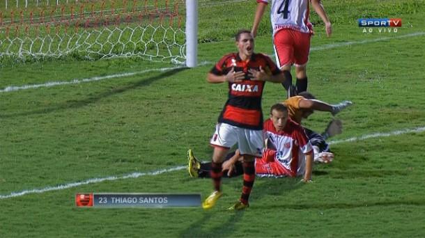 Taboao da Serra e Flamengo na Copa SP 2015