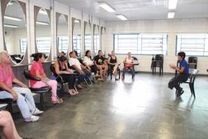 Novas turmas do curso de cabeleireiro já iniciaram as aulas no Lado a Lado Saporito (Foto: Flavia da Mata)