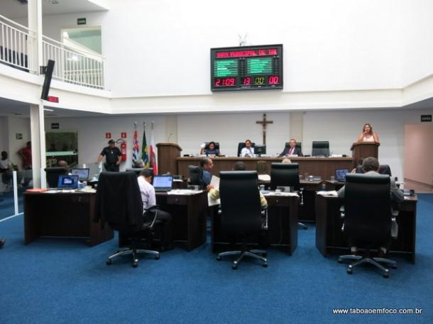 Câmara de Taboão da Serra elege os membros das comissões permanentes.