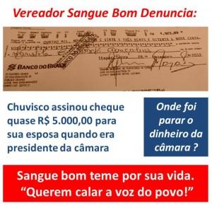 Cheque Esposa Prefeito de Itapecerica_SangueBom