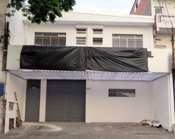 Fachada do esperado 2º DP de Taboão da Serra, que vai funcionar apenas em horário comercial e ficará fechado nos finais de semana.