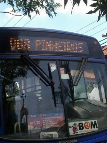 Passageiros criticam a falta de cobrador na linha 068, que liga Taboão a São Paulo. (Foto: Reprodução)