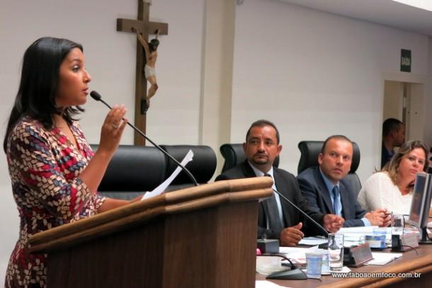 Presidente da Comissão de Saúde Joice Silva antecipou audiência da saúde e promete pressionar os responsáveis pela SPDM, empresa que administra os prontos socorros do município.