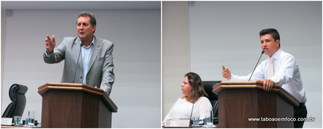Vereados Luiz Lune e Marcos Paulo opinam de forma distinta a respeito do pedido de abertura do processo de impeachment do prefeito Fernando Fernandes.