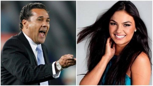 Técnico de futebol Vanderlei Luxemburgo e a atriz Isis Valverde teriam sido algumas das vítimas da quadrilha. (Fotos: Reprodução)