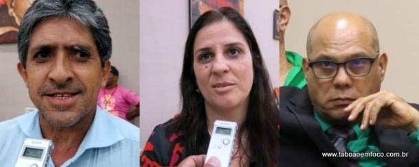 Os vereadores Gilvan da Saúde, Dra. Bete e Pedro Valdir recusam andar com carro custeado pela Câmara de Embu das Artes.