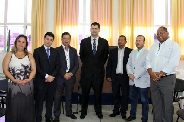 Vereadores de Taboão da Serra e o Juiz Guilherme Lamas.