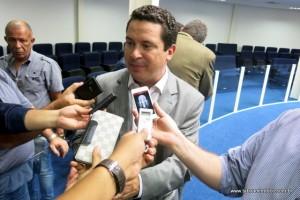 Nóbrega conversou com jornalistas alguns dias após sua histórica eleição. (Foto: Arquivo)