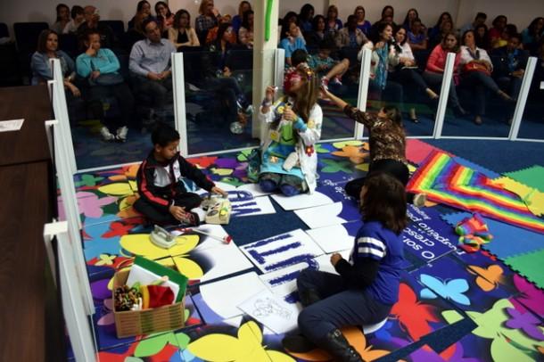 Evento na Câmara em 2015 iniciou a discussão a respeito do autismo em Taboão da Serra. (Foto: Divulgação / Ronaldo Onishi)