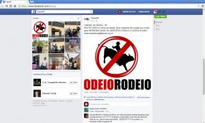 Ong promete recorrer ao MP contra o uso de animais no Rodeio de Taboão da Serra. (Foto: Reprodução)