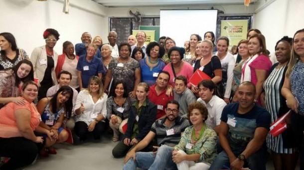 Participantes da Conferência Municipal da Saúde em Taboão da Serra. (Foto: Reprodução / Facebook Sueli Amoedo)
