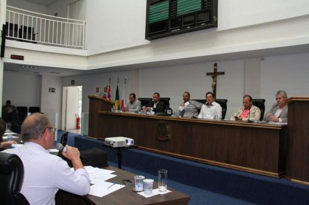 audiência Pública aconteceu na última quinta-feira, dia 28, no plenário da Câmara. (Cynthia Gonçalves / CMTS)