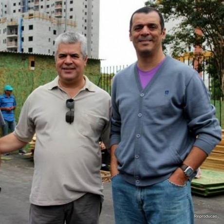 Secretário Cândido Ribeiro e vereador Marco Porta são vítimas de sequestro em Taboão. (Foto: Reprodução)
