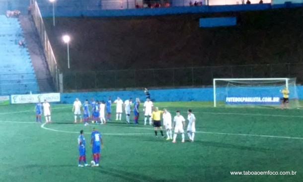 Taboão goleia o Guarulhos por 4 a 1 pela Quarta Divisão.