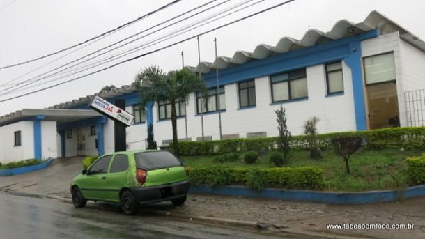 Fachada do Pronto Socorro da Antena, onde atuou o falso médico, investigado pela polícia.