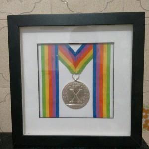 Medalha de Prata conquista no Pan de 1987 por Nelson Onmura. (Foto: Reprodução)