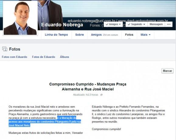 Print Face Eduardo Nobrega