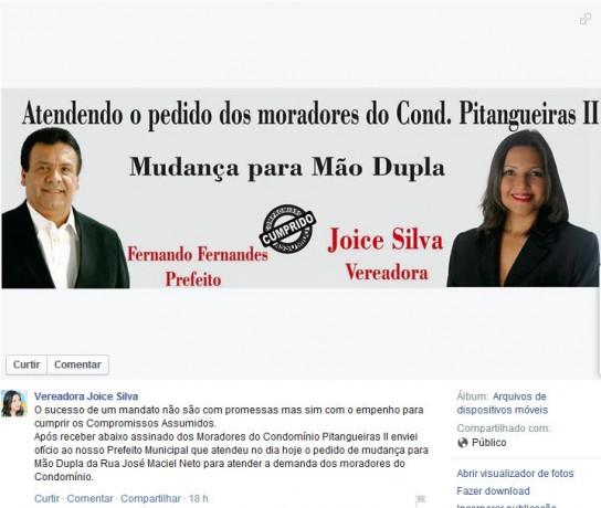 Print Face Joice Silva