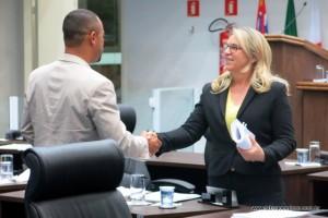 Professor Moreira e Luzia Aprígio destacaram os avanços do ex-prefeito Evilásio a frente da Prefeitura de Taboão da Serra.