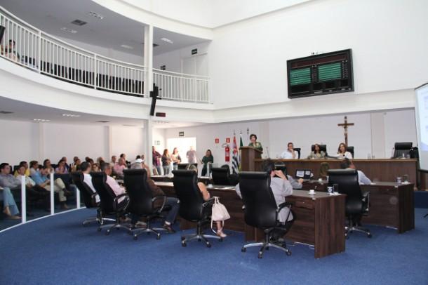 Câmara de Taboão da Serra realiza audiência pública da saúde. (Foto: Cynthia Gonçalves / CMTS)