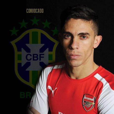 Jogador foi novamente convocado para a Seleção Brasileira. (Foto: Reprodução/Facebook)