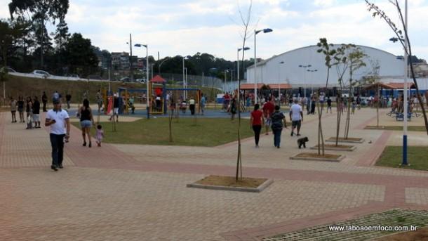 """Novo """"Parque da Família"""" na região do Parque Pinheiros é inaugurado."""