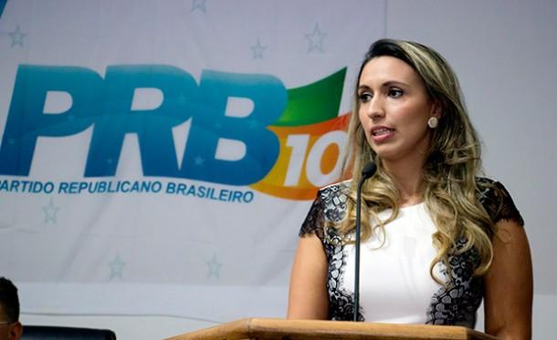 Priscila Magalhães assume a direção PRB de Taboão e deve ser candidata a vereadora em 2016.