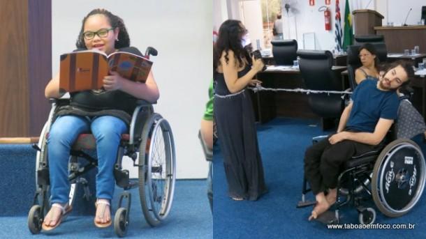 Duas intervenções poéticas que emocionaram o público durante o Fórum.