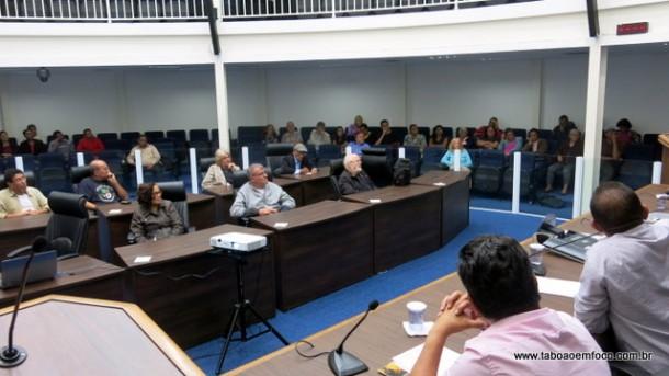 Audiência de Cultura em Taboão da Serra levanta demandas da classe artística.