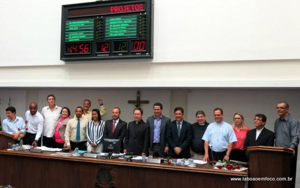 Por unanimidade, Câmara de Taboão da Serra aprova criação de feriado no dia 1 de outubro.
