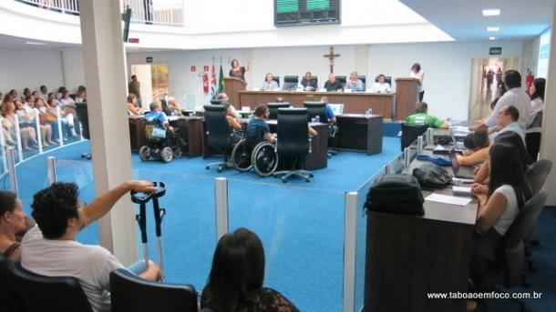 Câmara de Taboão da Serra realiza Fórum para discutir acessibilidade, inclusão e cidadania.