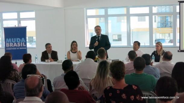 Presidente do Creci-SP, José Augusto Viana Neto, dá palestra em Taboão e reforça o cumprimento do código de ética da categoria.