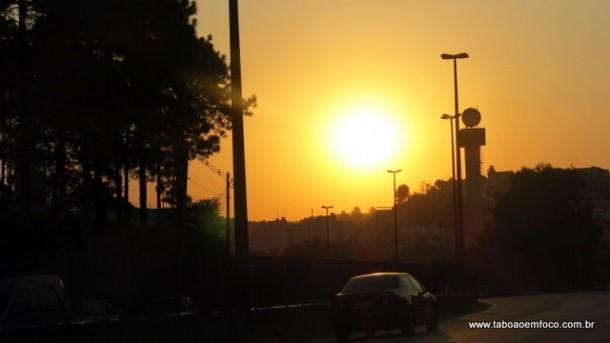 Primavera começou com muito sol em Taboão da Serra.