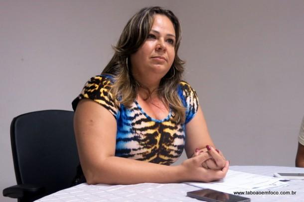 A vereadora Érica Franquini será a presidente da CPI contra o Shopping Taboão.
