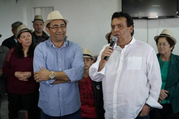 Fernando Fernandes discursa durante filiação no PSDB do ex-petista José Macário (Foto: Reprodução)
