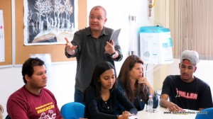 O coordenador da Apeoesp Subsede Taboão da Serra, Miguel Leme, diz que o projeto é autoritário.