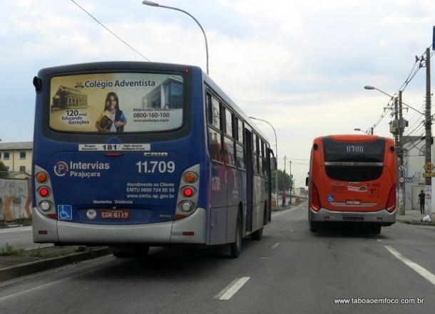 Mudanças de linhas de ônibus intermunicipais para Eliseu de Almeida visa melhorar a velocidade dos ônibus municipais de São Paulo no corredor exclusivo.