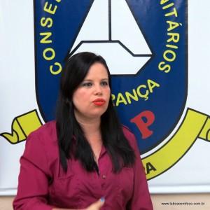 Solange Alves vai presidir o Conseg Pirajuçara nos próximos dois anos.