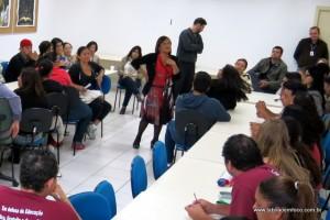 Dirigente regional de ensino Maria das Mercês Martins Bighetti diz que houve a participação dos diretores na elaboração do projeto.