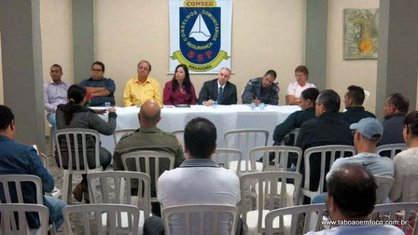 Após mais de um ano, reuniões do Conseg Pirajuçara voltam a ser realizadas com a posse da nova diretoria.