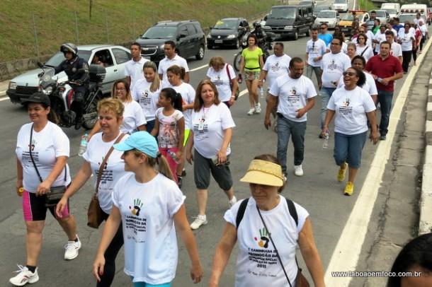 Caminhada pela Igualdade Racial em Taboao