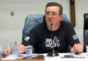 Presidente do Conseg Monte Alegre, José Júnior.
