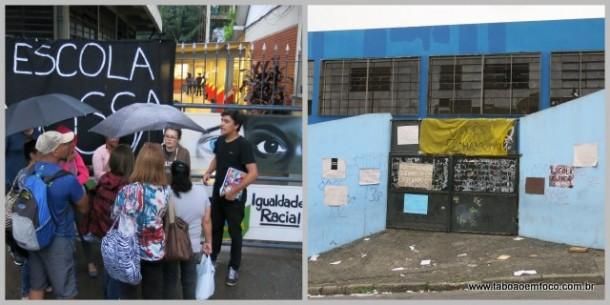 Escolas de Taboão da Serra que foram ocupadas contra a reorganização.