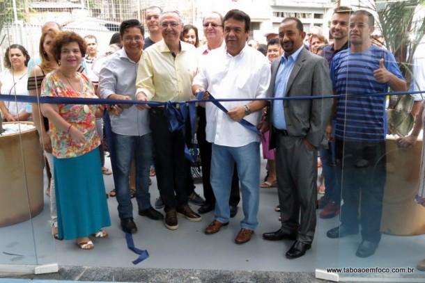 Prefeito Fernando Fernandes inaugura a UBS Oliveiras/Marabá.