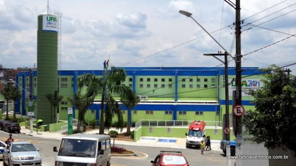 Unidade de Pronto Atendimento de Embu das Artes começou a funcionar nesta quarta (16)