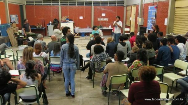 Virada Cultural na Escola Estadual Domingos Mignoni.