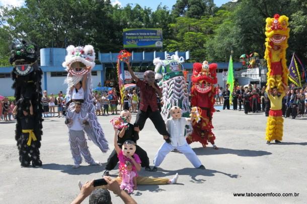 Taboão da Serra recebe uma das prévias da tradicional festa do ano-novo chinês que acontece no bairro da Liberdade, em São Paulo.