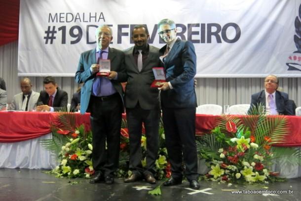 Entrega medalha 19 de fevereiro 2016_Cido