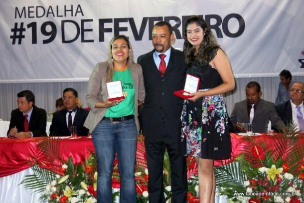 Entrega medalha 19 de fevereiro 2016_Professor Moreira