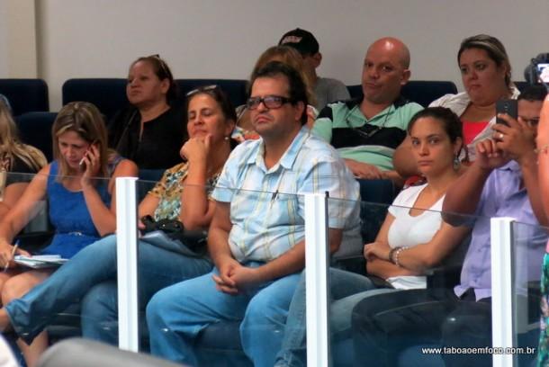Representante da SPDM, Jorge Salomão, acompanhou apenas parte da audiência e preferiu ficar na plateia.